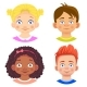 Set of Girls and Boy Character - GraphicRiver Item for Sale