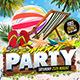 Summer Party Facebook Flyer