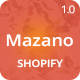 Mazano - Trendy Shopify Theme - ThemeForest Item for Sale