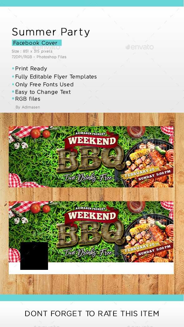 Weekend BBQ Facebook Cover - Facebook Timeline Covers Social Media