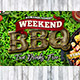 Weekend BBQ Facebook Cover - GraphicRiver Item for Sale