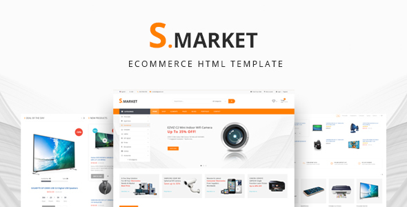 Smarket -  eCommerce Shop HTML Template