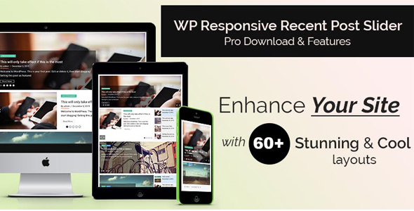 CodeCanyon Responsive Recent Post Slider Pro 20299474