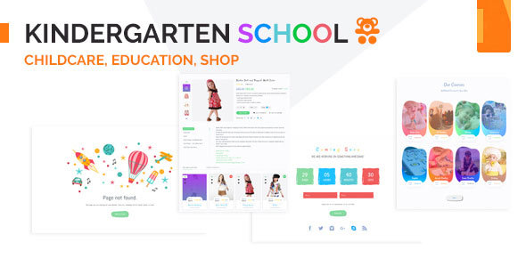 ThemeForest Kindergarten Education & Institute Template 20299537