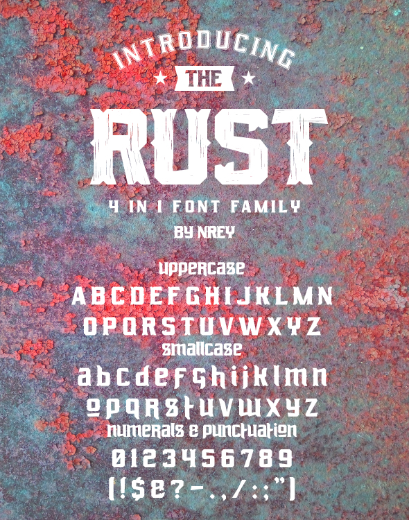Rust - Miscellaneous Serif