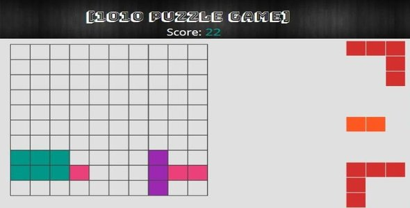 1010 puzzle HTML5 Game - CodeCanyon Item for Sale