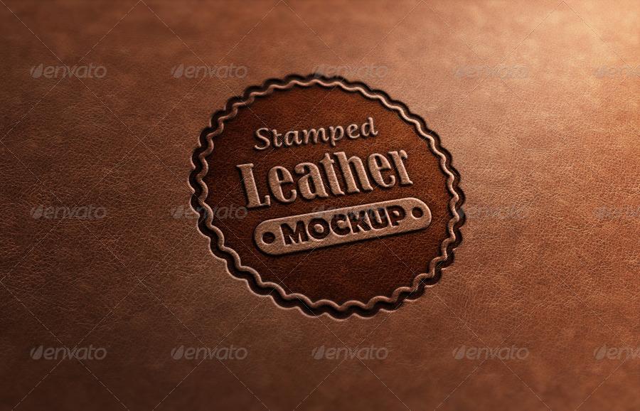photorealistic logo mock