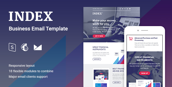 Index Business Email Template - Email Templates Marketing