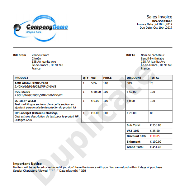 Php Invoice X2 Preview1.png ...  Beautiful Invoices