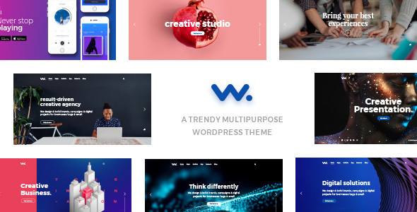Wilson – Multipurpose WordPress Theme - Creative WordPress