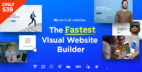 Massive Dynamic - WordPress Website Builder - Corporate WordPress