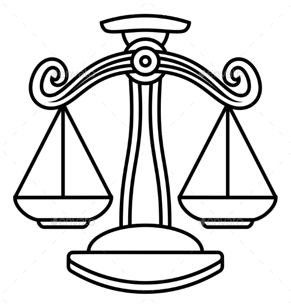 Libra Scales Zodiac Sign - Miscellaneous Vectors