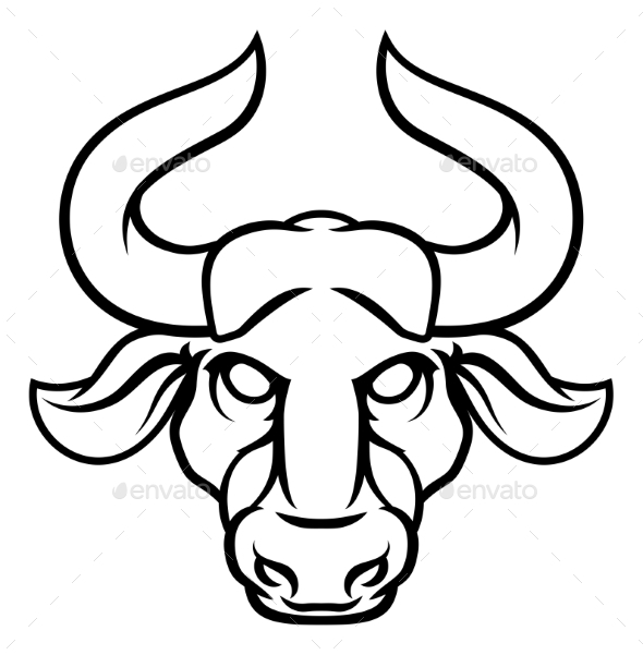 GraphicRiver Taurus Bull Zodiac Horoscope Sign 20302368