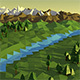 Lowpoly Landscape - VideoHive Item for Sale