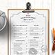 Food Menu - GraphicRiver Item for Sale