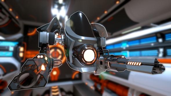 Sci Fi Drone prototype - 3DOcean Item for Sale