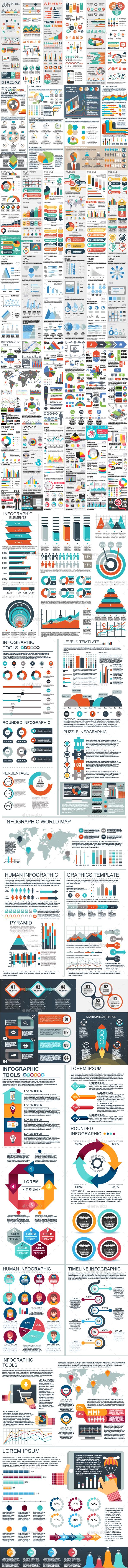 Bundle Infographic Elements