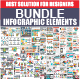 Bundle Infographic Elements - GraphicRiver Item for Sale