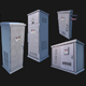 Utility Electronic Boxes Pack - 3DOcean Item for Sale