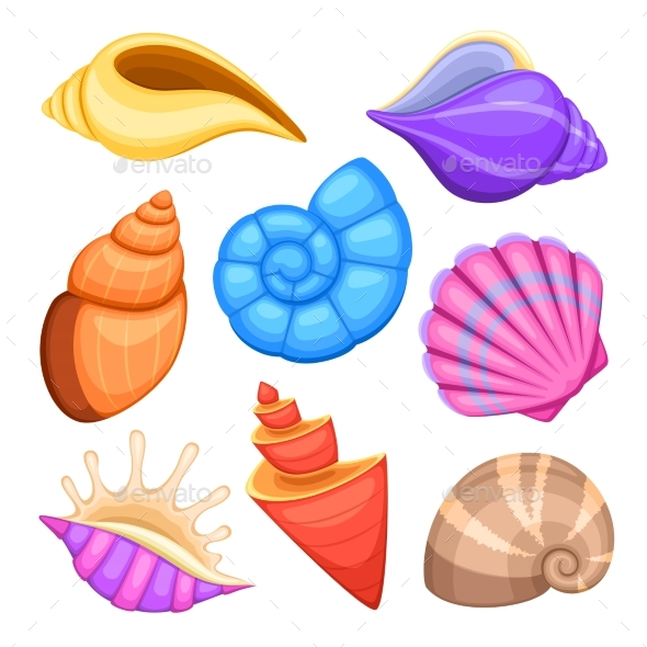 GraphicRiver Ocean Cockleshells 20302696
