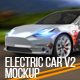 Electric Car Mock-Up V.2 - GraphicRiver Item for Sale