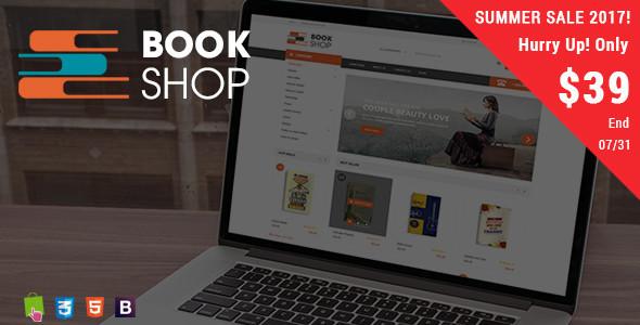 BookShop - Books Library Responsive Prestashop Theme - Shopping PrestaShop