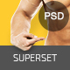 SUPERSET - GYM Landing Page (PSD) Nulled