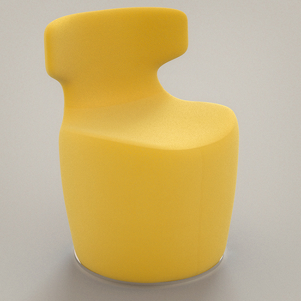 3DOcean Vray Ready Modern Plastic Chair 20302911
