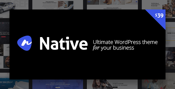 Native - Powerful Startup Development Tool - Creative WordPress