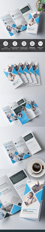Tri Fold Multipurpose Brochure - Corporate Brochures