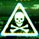Digital Skull Sign - VideoHive Item for Sale