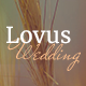 Lovus - Wedding and Wedding Planner Website Template