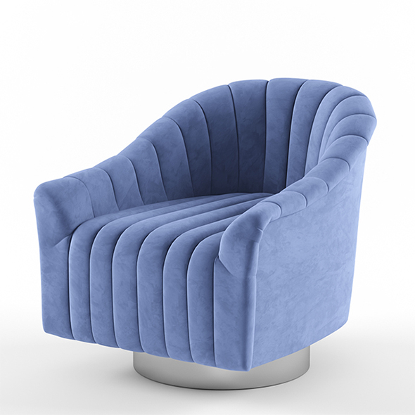 Vray Ready Modern Chair - 3DOcean Item for Sale
