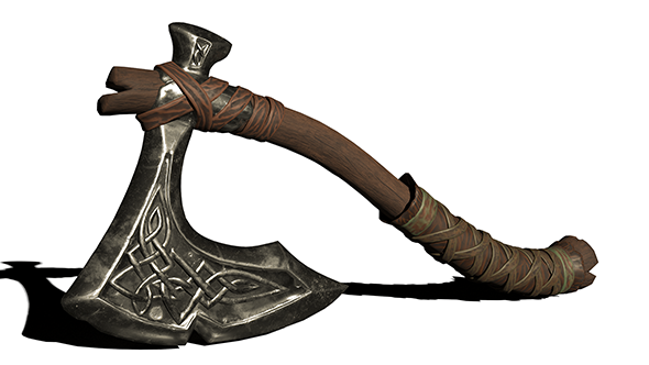 Stylized Axe - 3DOcean Item for Sale