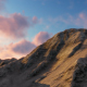 Clouds Over Mountains at Sunset - VideoHive Item for Sale