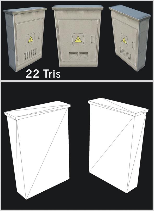 3DOcean Utility Box 04 20303274