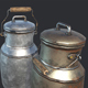 Old Milk Jars - 3DOcean Item for Sale