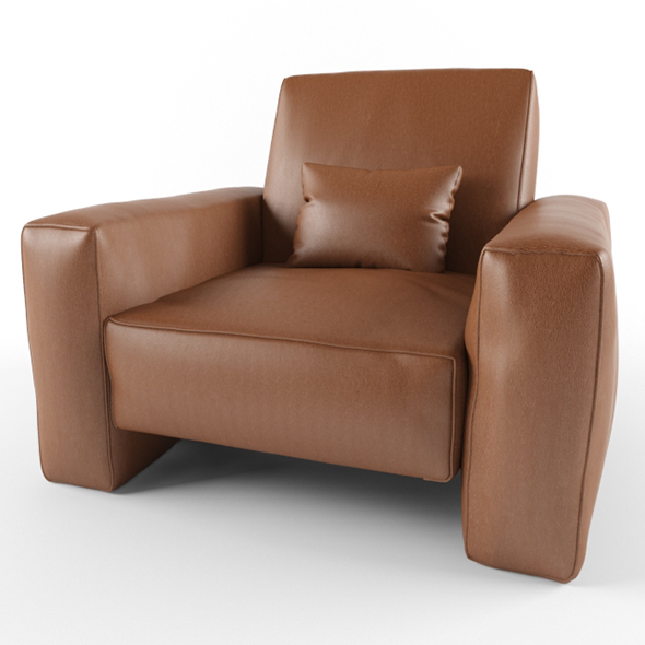 Vray Ready Swivel Glider - 3DOcean Item for Sale
