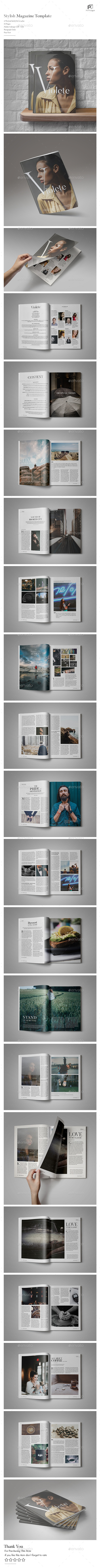 Stylish Magazine Vol.4 - Magazines Print Templates