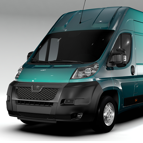 Peugeot Boxer Van L4H3 2006-2015 - 3DOcean Item for Sale