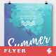 Summer Waves - Party Flyer / Poster Artwork Template A3 - GraphicRiver Item for Sale