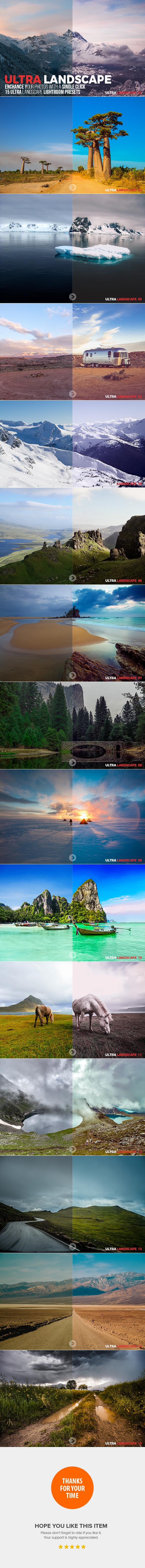 15 Ultra Landscape Lightroom Presets - Landscape Lightroom Presets