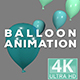 Balloon Animation With Different Color Variations - VideoHive Item for Sale
