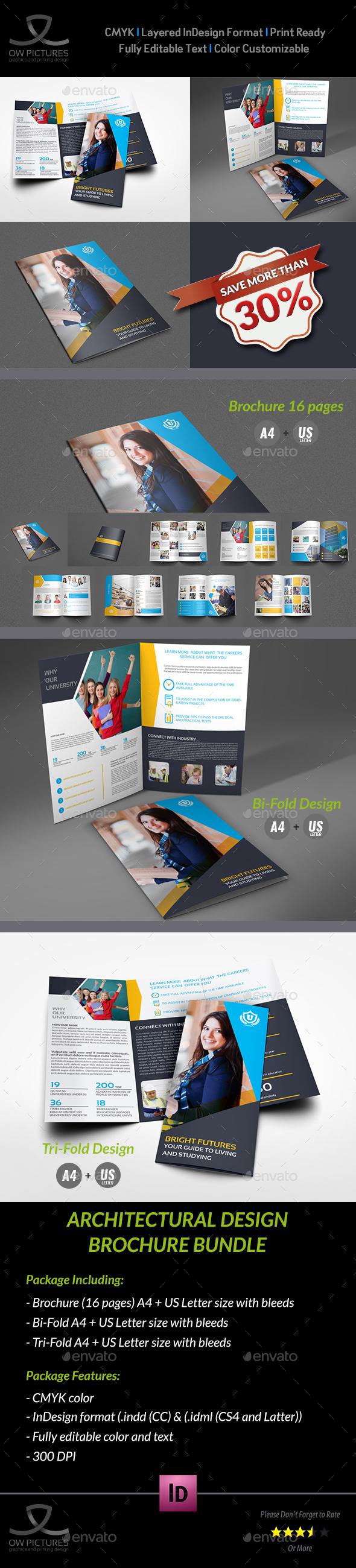 University - College Brochure Bundle - Brochures Print Templates