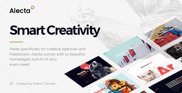 Alecta - A Smart Theme for Creative Agencies and Freelancers