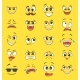 Cartoon Emotions with Faces