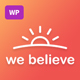 WeBelieve | Church, Charity and Fundraising Responsive Multi-Purpose WP Theme