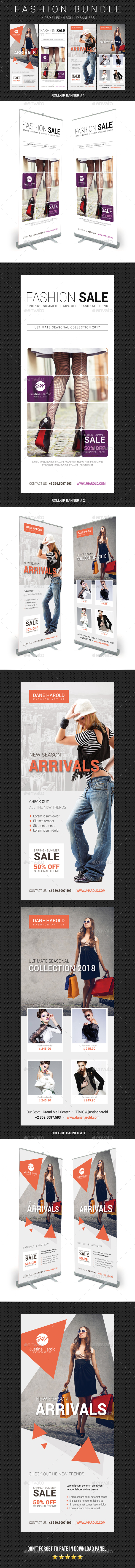Fashion Banner Templates - Signage Print Templates