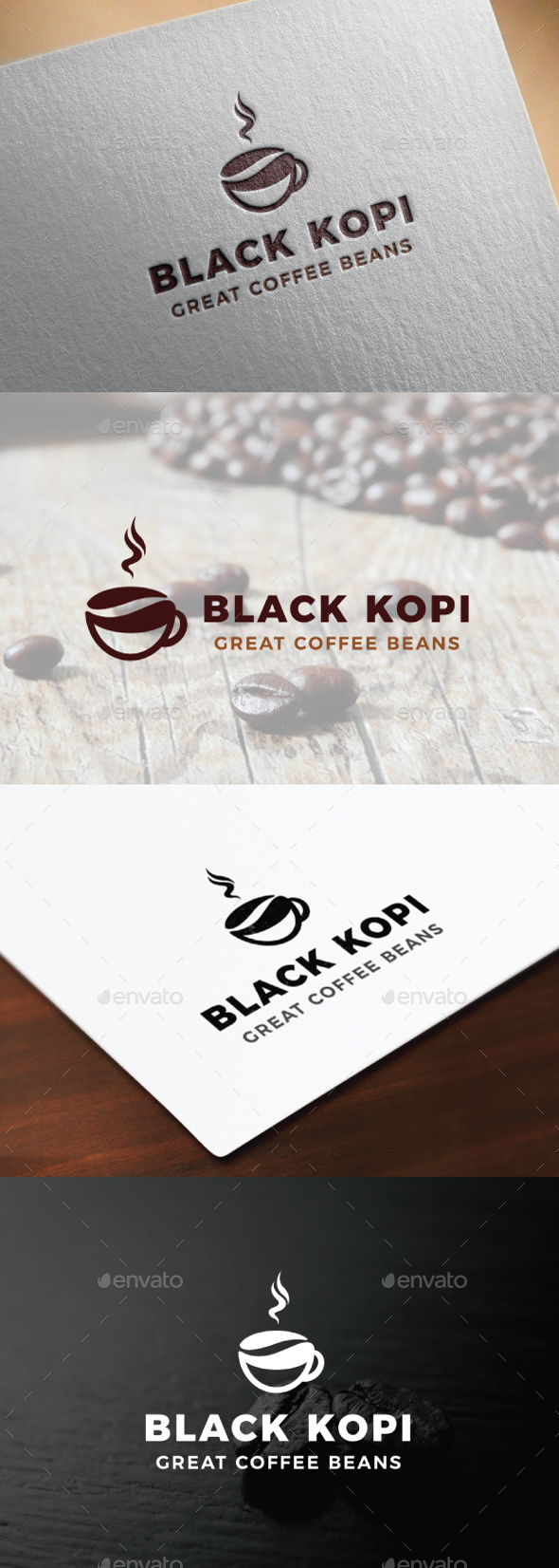 Coffee Logo - Food Logo Templates