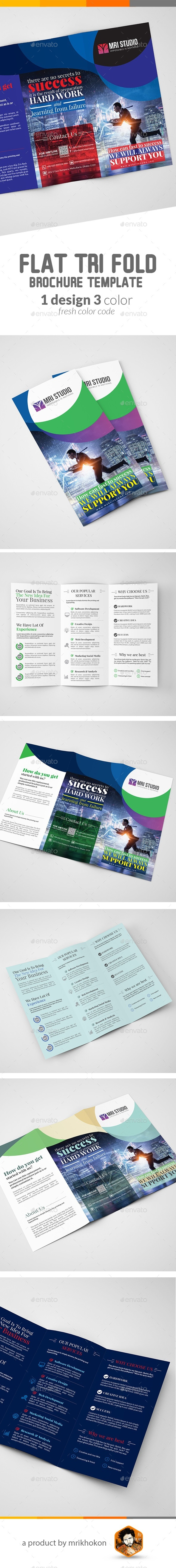 Creative Tri fold Brochure - Corporate Brochures